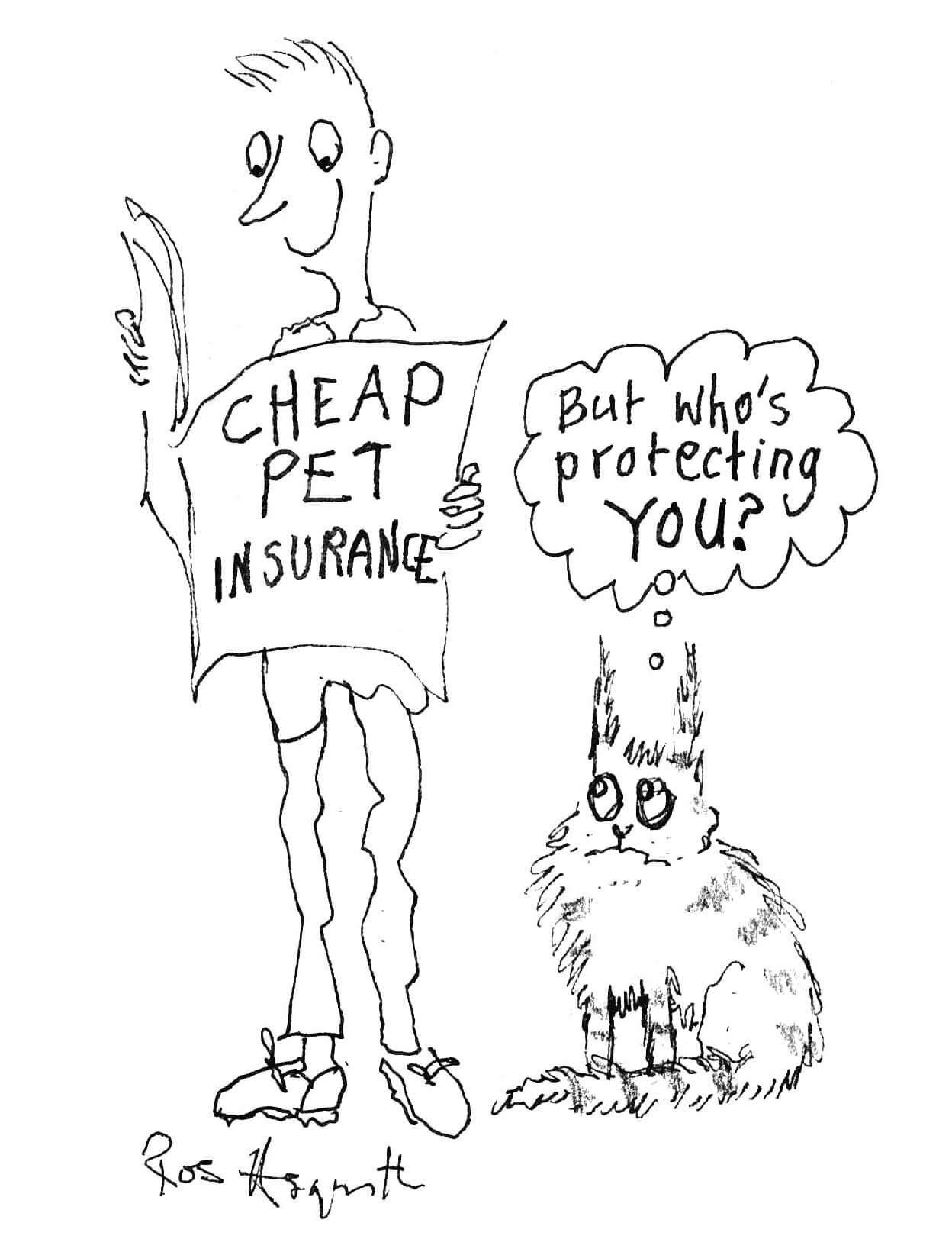 Ruth Whitehead Associates - Protection cartoon